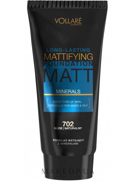 Vollare long-lasting mattifying foundation matt *