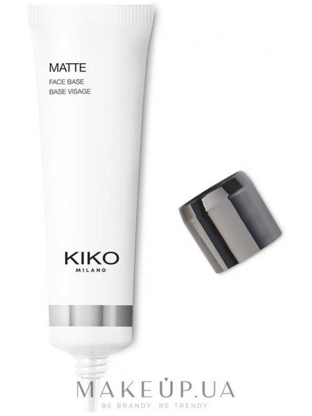 Kiko milano matte face base