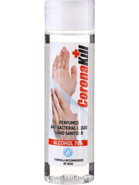 Антибактериальное жидкое средство для дезинфекции рук