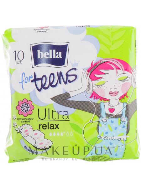 Прокладки for teens ultra relax, 10 шт