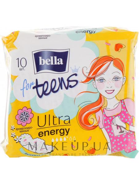 Прокладки for teens ultra energy, 10шт