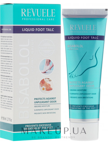 Жидкий тальк для ног