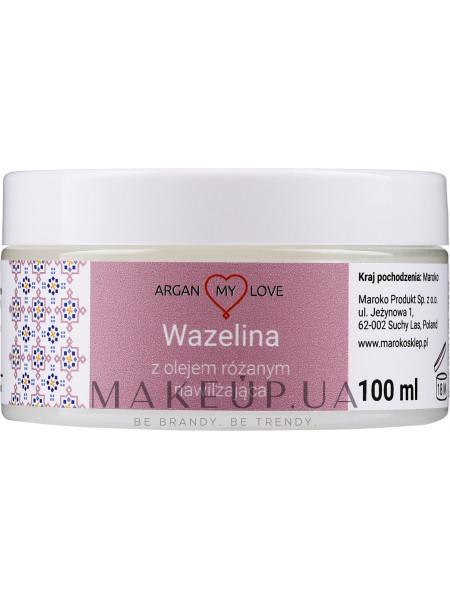 Вазелин с розовым маслом для лица и тела