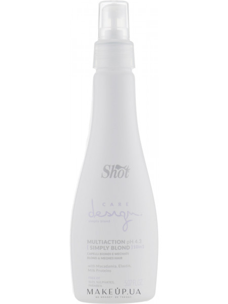 Эликсир многофункциональный для осветленных и мелированных волос 10 в 1