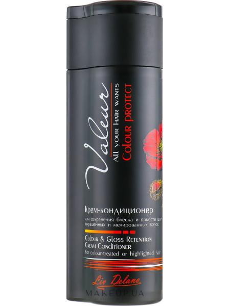 Крем-Кондиционер для сохранения блеска и яркости цвета окрашенных и мелированных волос