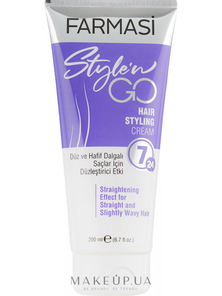 Крем-Стайлинг для прямых волос