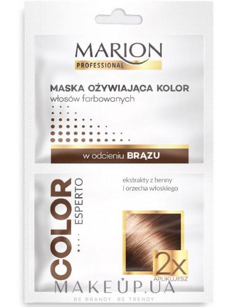 Маска для сохранения цвета темных волос