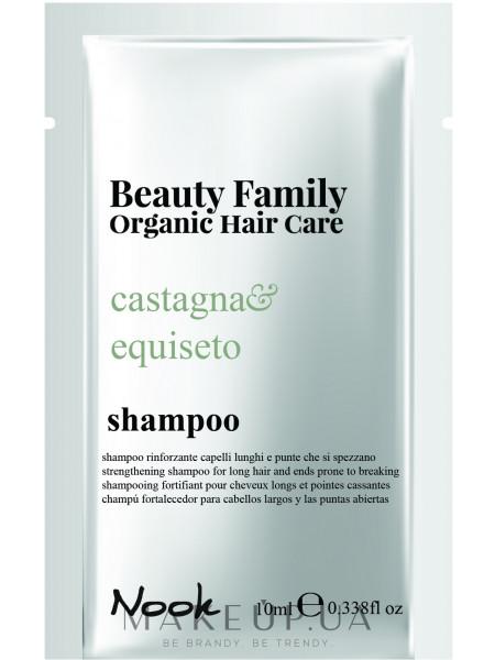 Укрепляющий шампунь для длинных ломких волос