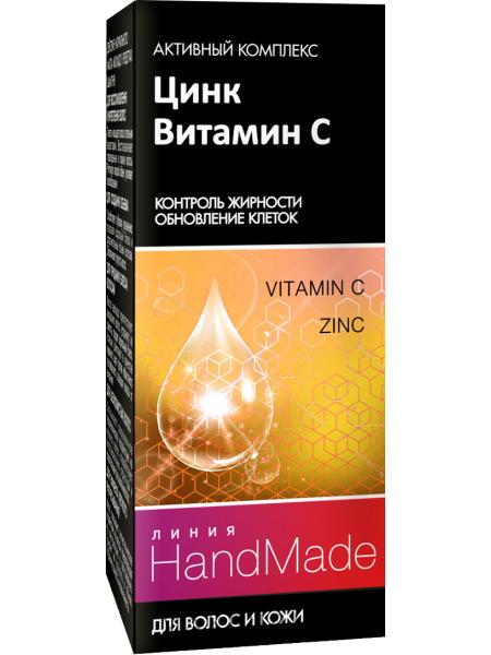 Цинк + витамин с для волос и кожи головы