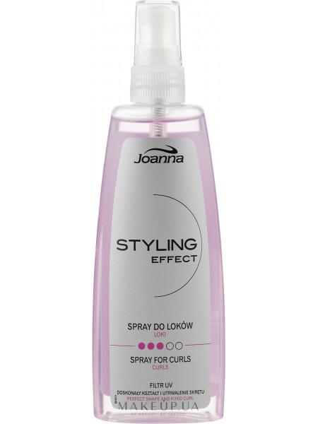 Спрей для укладки вьющихся волос