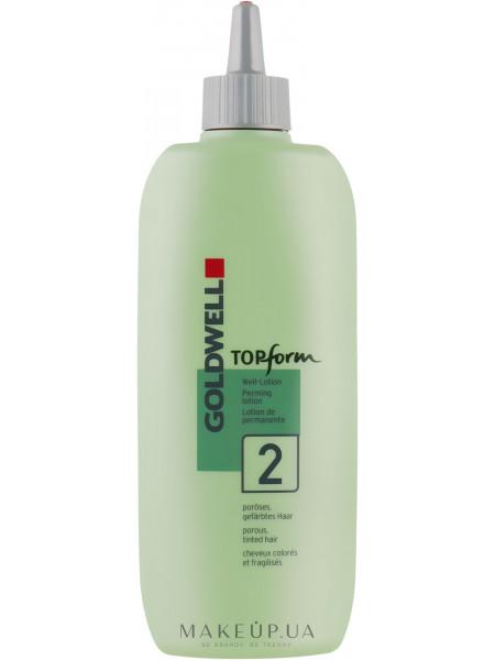 Химическая завивка для пористых или окрашенных волос