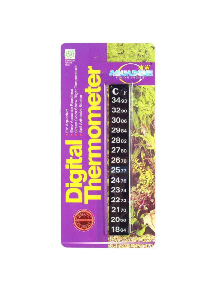 Термометр для аквариума KW Zone Aquadine самоклеющийся