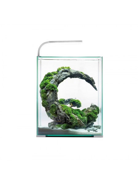 Аквариумный набор Aquael «Shrimp Set Smart» белый, прямой (10 л)