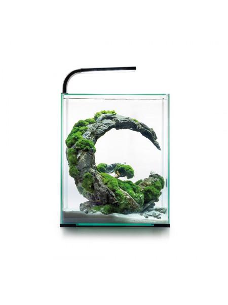 Аквариумный набор Aquael «Shrimp Set Smart» чёрный, прямой (10 л)
