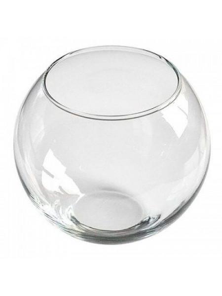 Аквариум круглый d=15 см (1 л)