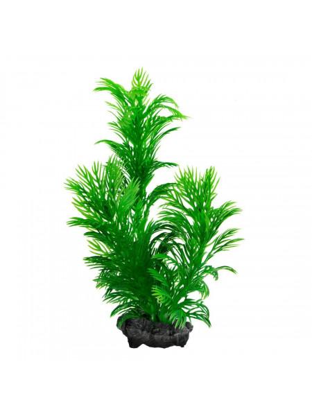 Декорация для аквариума Tetra DecoArt Plantastics растение с утяжелителем «Green Cabomba» M 23 см (пластик)