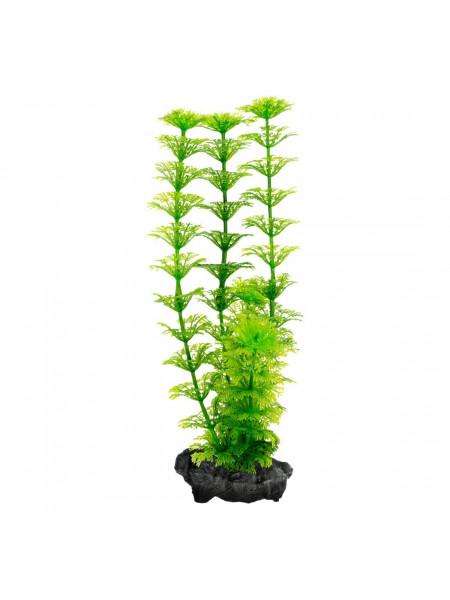 Декорация для аквариума Tetra DecoArt Plantastics растение с утяжелителем «Ambulia» M 23 см (пластик)