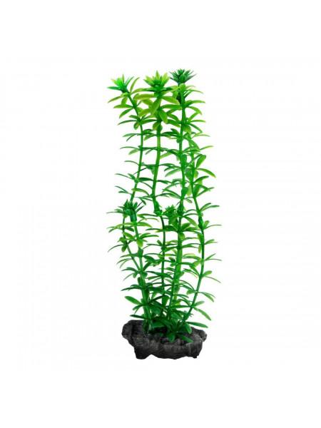 Декорация для аквариума Tetra DecoArt Plantastics растение с утяжелителем «Anacharis» M 23 см (пластик)