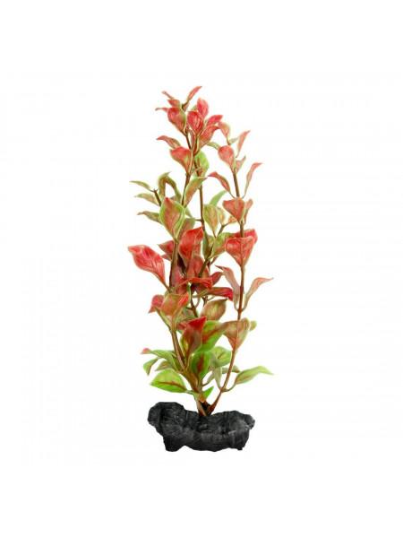 Декорация для аквариума Tetra DecoArt Plantastics растение с утяжелителем «Red Ludwigia» M 23 см (пластик)