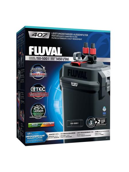 Внешний фильтр Fluval «407» для аквариума 150-500 л
