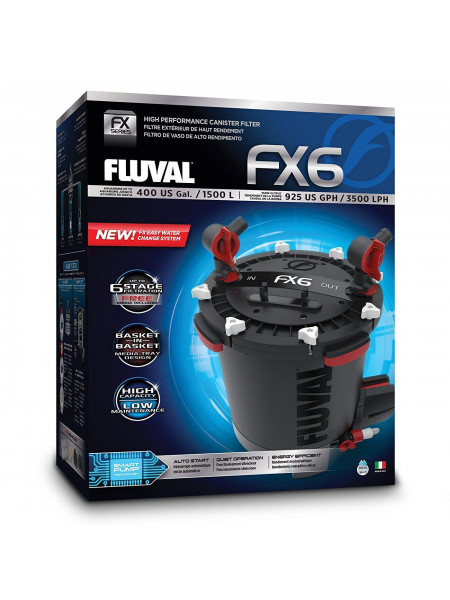 Внешний фильтр Fluval «FX6» для аквариума до 1500 л