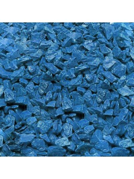 Грунт для аквариума Zeta Голубой 1 кг (5-10 мм)