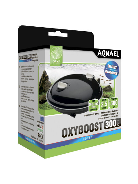Компрессор Aquael «Oxyboost APR-300 Plus» с двумя выходами для аквариума 200-300 л