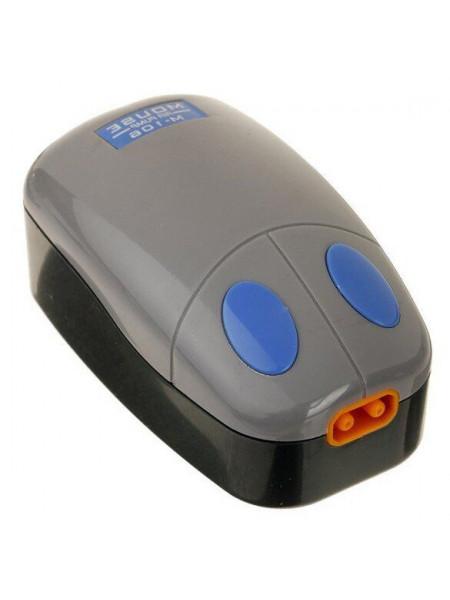 Компрессор KW Zone Mouse «M-106» с двумя выходами для аквариума 120-200 л