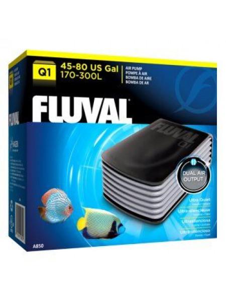 Компрессор Fluval «Q1» с двумя выходами для аквариума 170-300 л