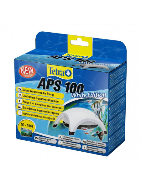 Компрессор Tetra «APS 100 White Edition» для аквариума 50-100 л