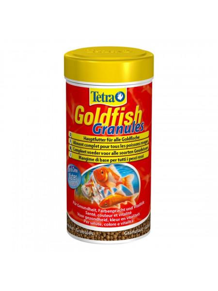 Сухой корм для аквариумных рыб Tetra в гранулах «Goldfish Granules» 100 мл (для золотых рыбок)