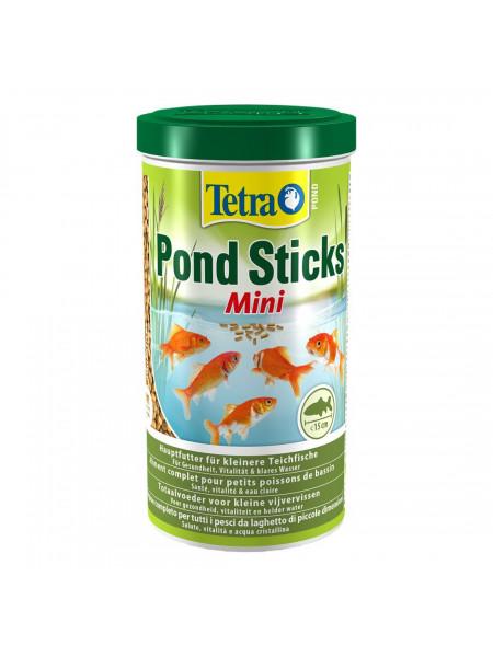 Сухой корм для прудовых рыб Tetra в палочках «Pond Sticks Mini» 1 л (для всех прудовых рыб)