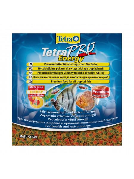 Сухой корм для аквариумных рыб Tetra в чипсах «TetraPro Energy» 12 г (для всех аквариумных рыб)