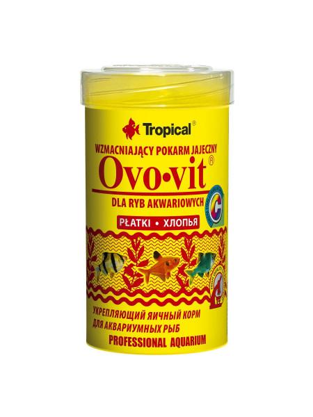 Сухой корм для аквариумных рыб Tropical в хлопьях «Ovo-Vit» 100 мл (для всех аквариумных рыб)
