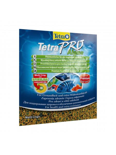 Сухой корм для аквариумных рыб Tetra в чипсах «TetraPro Algae» 12 г (для травоядных рыб)
