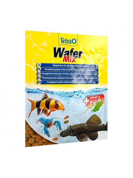 Сухой корм для аквариумных рыб Tetra в пластинках «Wafer Mix» 15 г (для донных рыб)