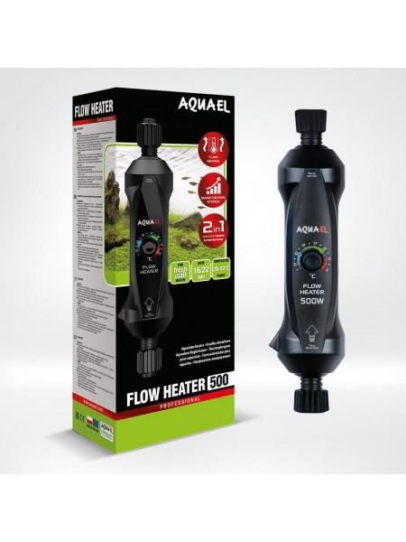 Обогреватель проточный Aquael Flow Heater 500 Вт с системой регулировки One Touch, 500 W