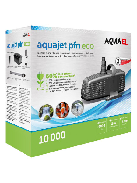 Фонтанная помпа Aquael «AquaJet PFN 10000 ECO»