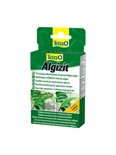 Средство против водорослей Tetra «Algizit» 10 таблеток