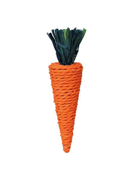 Игрушка для грызунов Trixie Морковка 20 см (натуральные материалы)