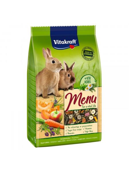 Корм для кроликов Vitakraft «Premium Menu Vital» 1 кг