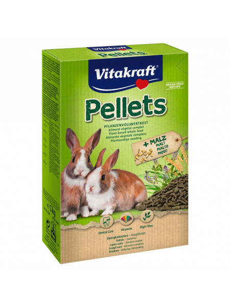 Корм для кроликов Vitakraft «Pellets» 1 кг
