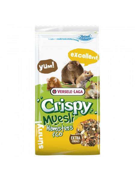 Корм для мелких грызунов Versele-Laga «Crispy Muesli Hamsters & Co» 1 кг