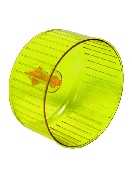 Беговое колесо для грызунов Природа с креплением d=14 см (пластик)