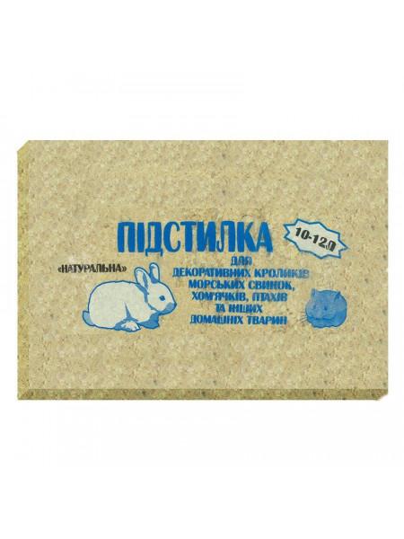 Гигиенический наполнитель для грызунов Природа 900 г (тырса)