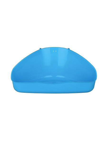 Туалет для грызунов Trixie угловой 16 x 7 x 12/12 см (пластик, цвета в ассортименте)