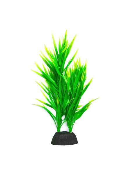 Декорация для аквариума растение силиконовое «Ламинария»