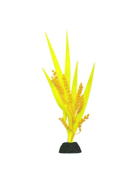 Декорация для аквариума растение силиконовое «Переромия»