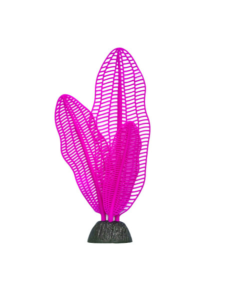Декорация для аквариума растение силиконовое «Апоногетон» L