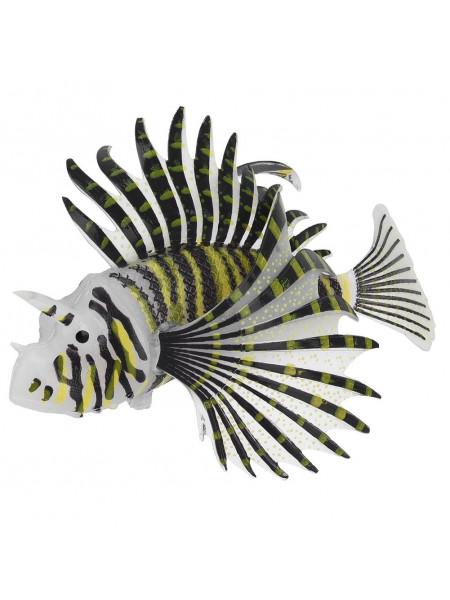 Декорация для аквариума из силикона «Рыба-крылатка» L
